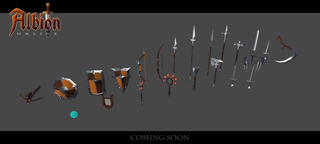Imagens de farming, novas armas e mais!
