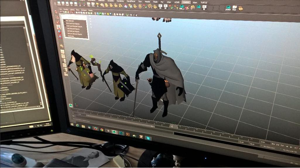 Imagens de desenvolvimento V.3