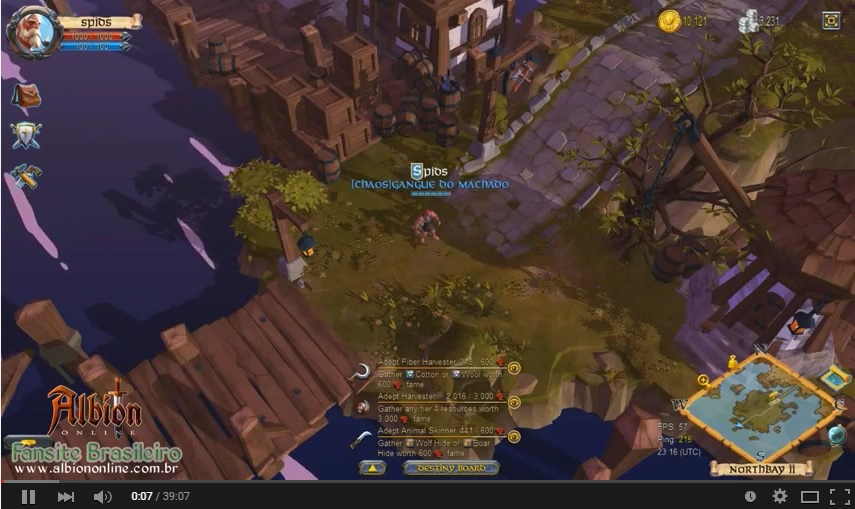 Gameplay Albion Online Alpha #1