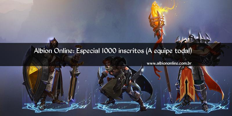 Vídeo especial 1000 inscritos (A equipe toda!)