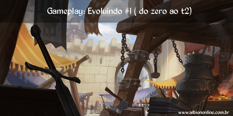 Gameplay: Evoluindo #1 (do zero ao t2)