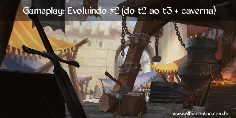 Gameplay: Evoluindo #2 (do t2 ao t3 + caverna)