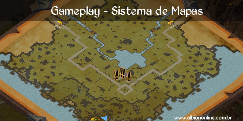Gameplay – Como funciona o mapa
