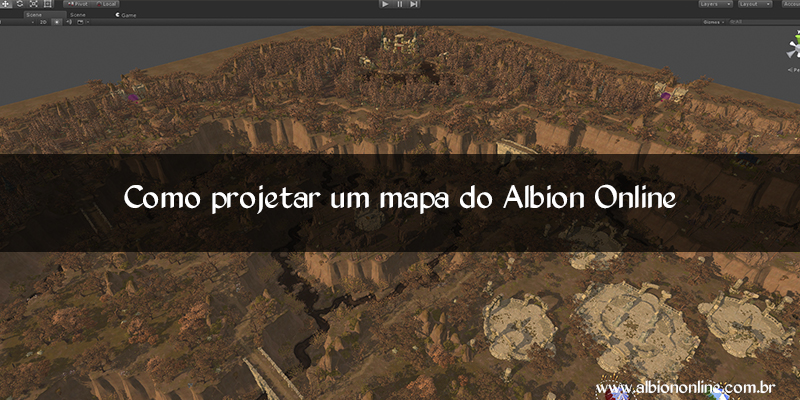 Como projetar um mapa do Albion Online