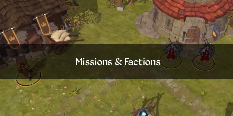 Missões e Facções