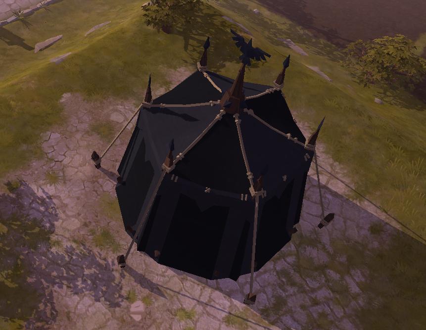 Barraca do exército de Morgana