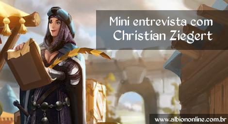 Mini entrevista com Christian Ziegert